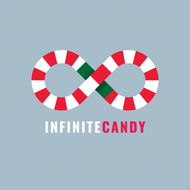 Infinite Candy Logo Template Premium Download