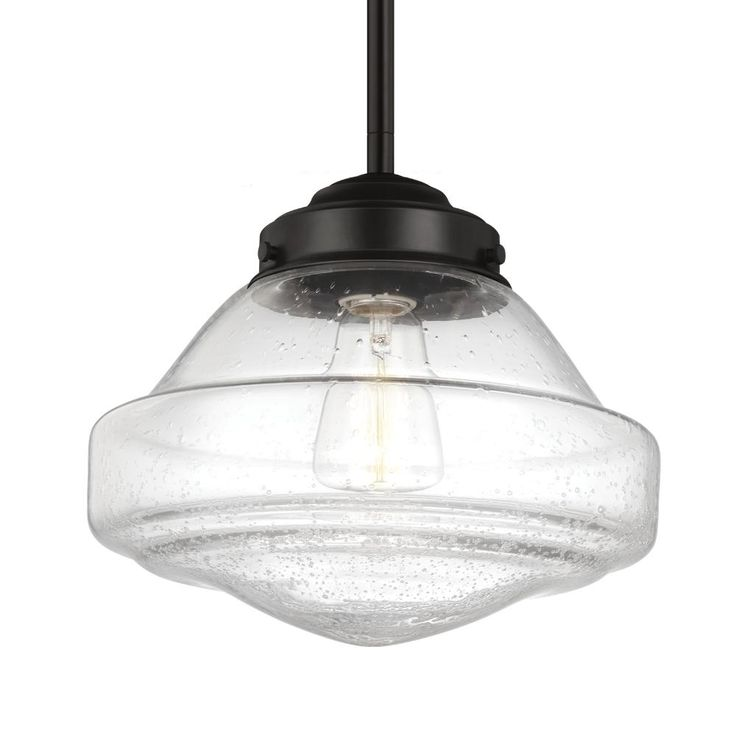 LED Pendant : P1378ORB-LED | Living Lighting Owen Sound