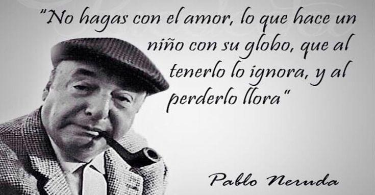 El poeta Pablo Neruda nació en Chile en el año 1904 en el seno de una familia humilde y ya desde muy pequeño enfrenta la adversidad cuando su mad...