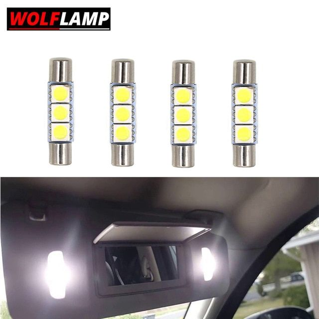 Led Interior Bulbs For Car Sun Visor