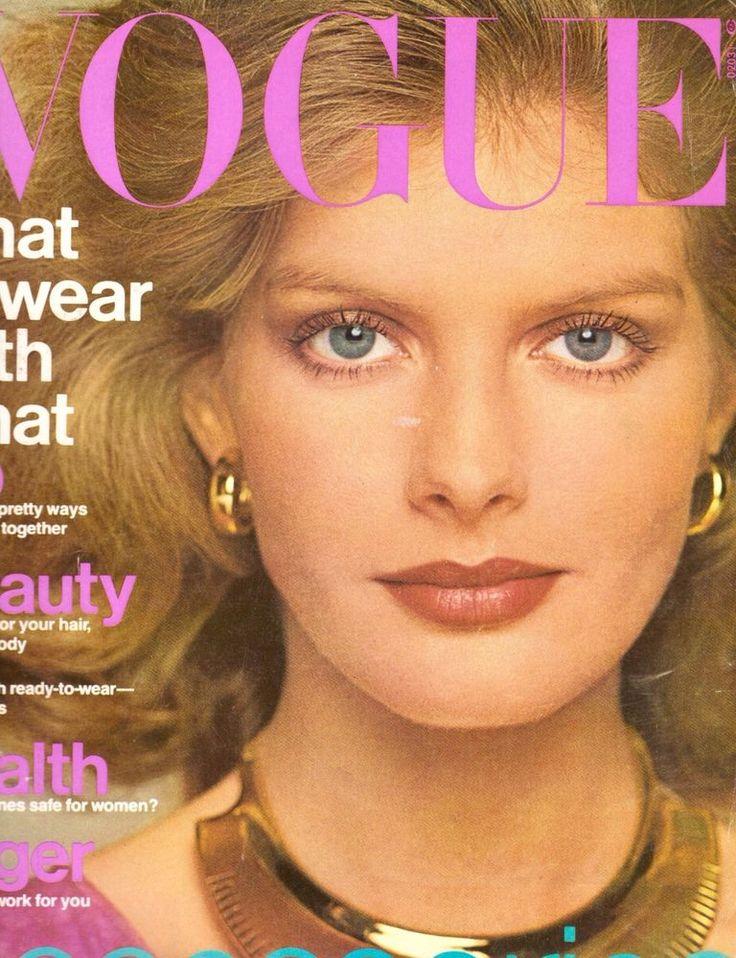 1976 Vogue Magazine Rene Russo Twyla Tharp Marisa Berenson Vanessa Redgrave 70s #Vogue