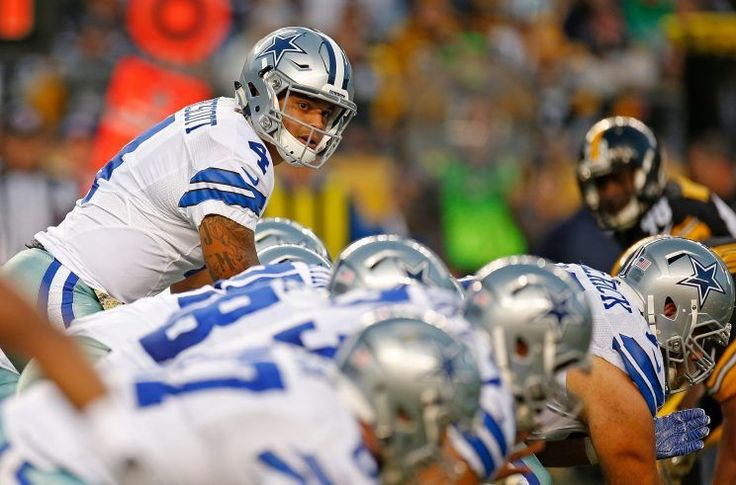 It had Dez Bryant catching a clutch touchdown, emotional after the death of his father only hours before the game.  It had Ben Roethlisberger with a fake spike in the last minute, lobbing a perfect throw to Antonio Brown in the end zone for what looked like a game-winning play.  It had Ezekiel Elliott