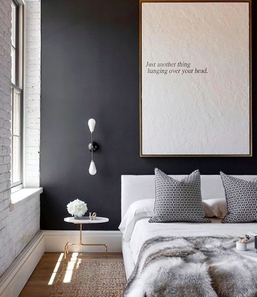 Best 25 dark grey walls ideas on pinterest grey dinning for Chambre instagram