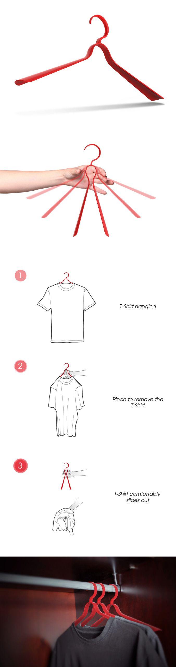 Pinch Clothes Hanger Design Jaineel-Shah