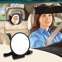 $24 for a Backseat Baby View Mirror | DrGrab