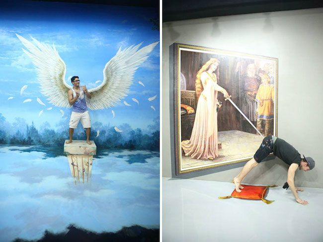 Now you can step into a painting at this 3D art museum