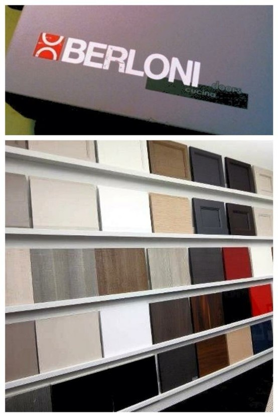 Berloni Showroom Kitchen Cabinet Door Display Design Inc