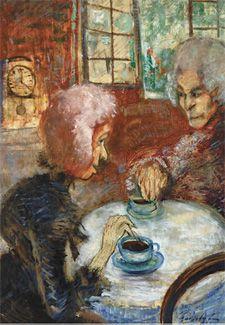 A púpos vénkisasszony régi emlékeit meséli Herbertnek (1910-1912)