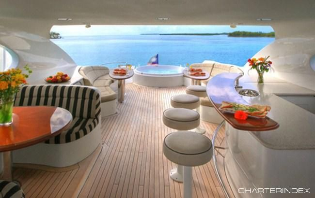 Flybridge - STOP THE PRESS Charter Yacht