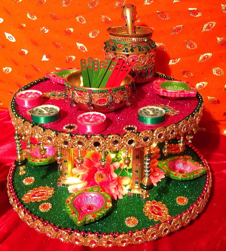 A double tiered spectacular Mehndi plate. See my Facebook page Www.facebook.com  sc 1 st  Pinterest & 281 best Mehndi Plates images on Pinterest