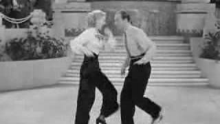 Fred Astaire & Ginger Rogers - Too Hot to Handle, via YouTube.