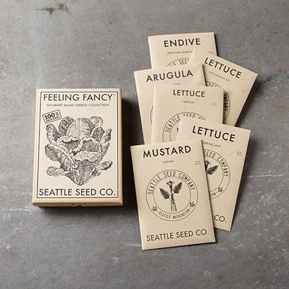 Williams-Sonoma Fancy Salad Greens Seed Collection - perfect for your next garden!