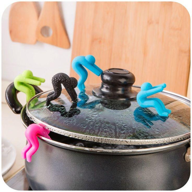 2pcs / lotto strumenti Pot sportellino di introduzione Sollevatori gomma Inserti pentole da cucina Accessori gadget cozinha gadget di cucina a Aliexpress.com | Alibaba Group