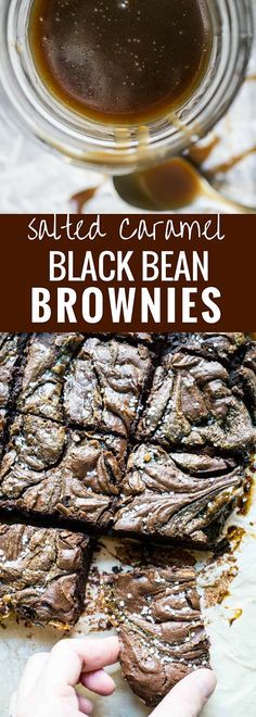 Salted Caramel Black Salted Caramel Black Bean Brownies WARNING! Just because these brownies contain a nutritious food doesnt make them nutritious! Important distinction in my opinion. Recipe : http://ift.tt/1hGiZgA And @ItsNutella  http://ift.tt/2v8iUYW