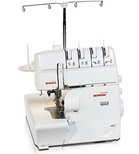 Bernina serger 1150MDA, love it!  This is a solid Serger!   She's a workhorse that asks very little in return for her stitching prowess.  Wouldn't want to be without her!