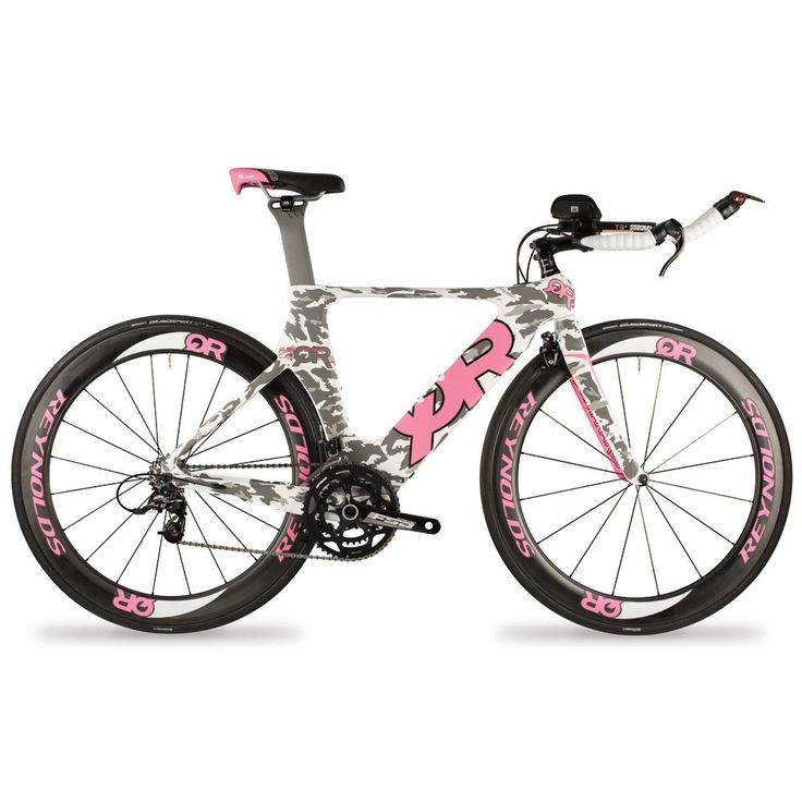 Quintana CD0.1 Camo 2014: Described as the leader in women's triathlon-specific bikes by several publications, QR is proud to build on that reputation by unveiling a women's specific version of the CD0.1. Ladies, QR knows you are serious since a racing wheelset upgrade with matching graphics is available with this bike.