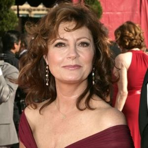 Susan Sarandon pairs a pink shade of lipstick here with brown hue eyeshadow and a soft pink blush.  These soft hues of brown and pink make her look healthy and vibrant.