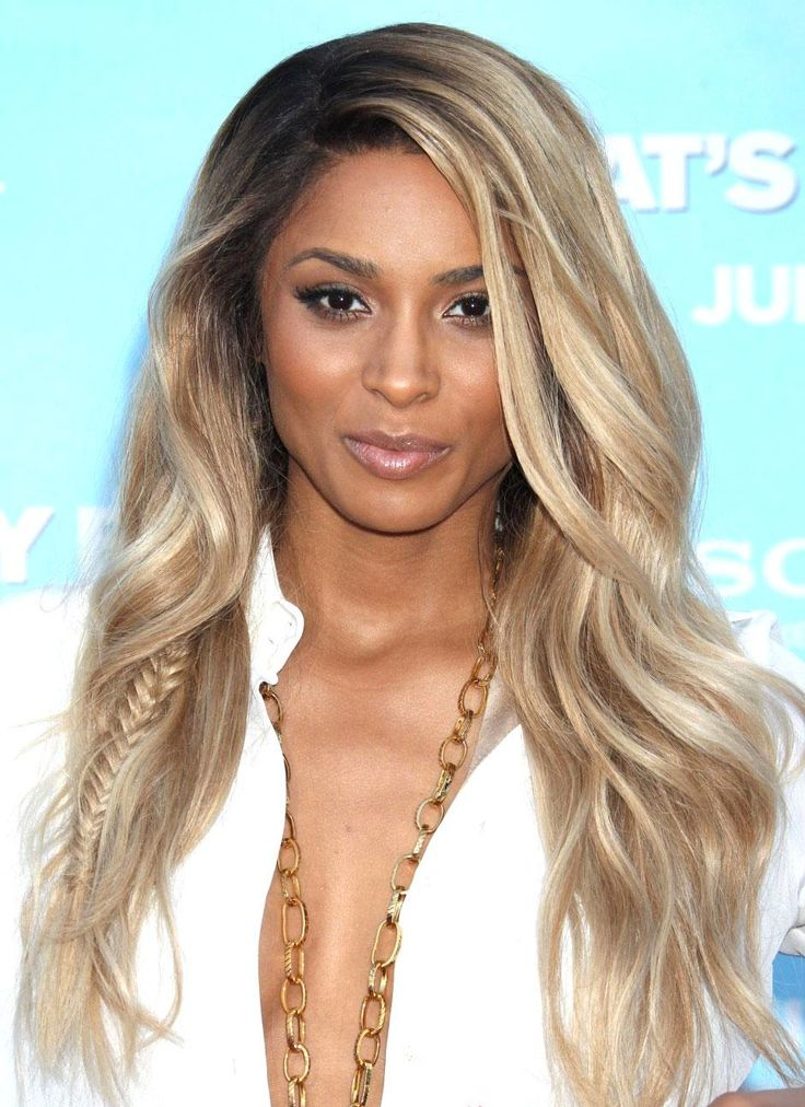 ciara long wavy hairstyle wigs wigs pinterest long. Black Bedroom Furniture Sets. Home Design Ideas