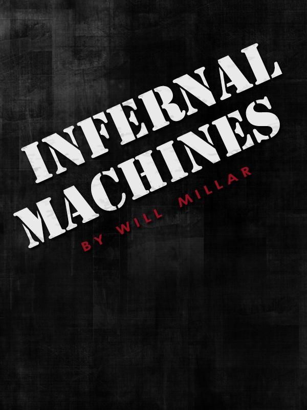 Infernal Machines Book Cover Horror novel, Horror books