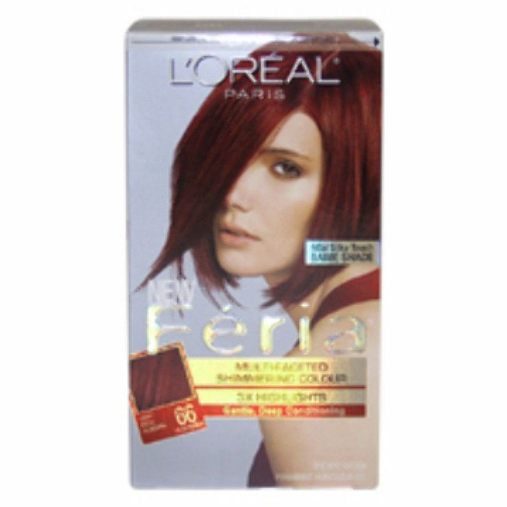 LOreal Feria Multi-Faceted Shimmering Color 3X Highlights Very Rich Auburn and Warmer 66 - ( Pack of 1) *** To view further for this item, visit the image link.