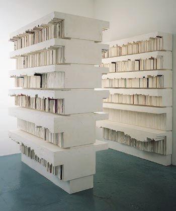 Rachel Whiteread, Untitled (Stacks), 1999