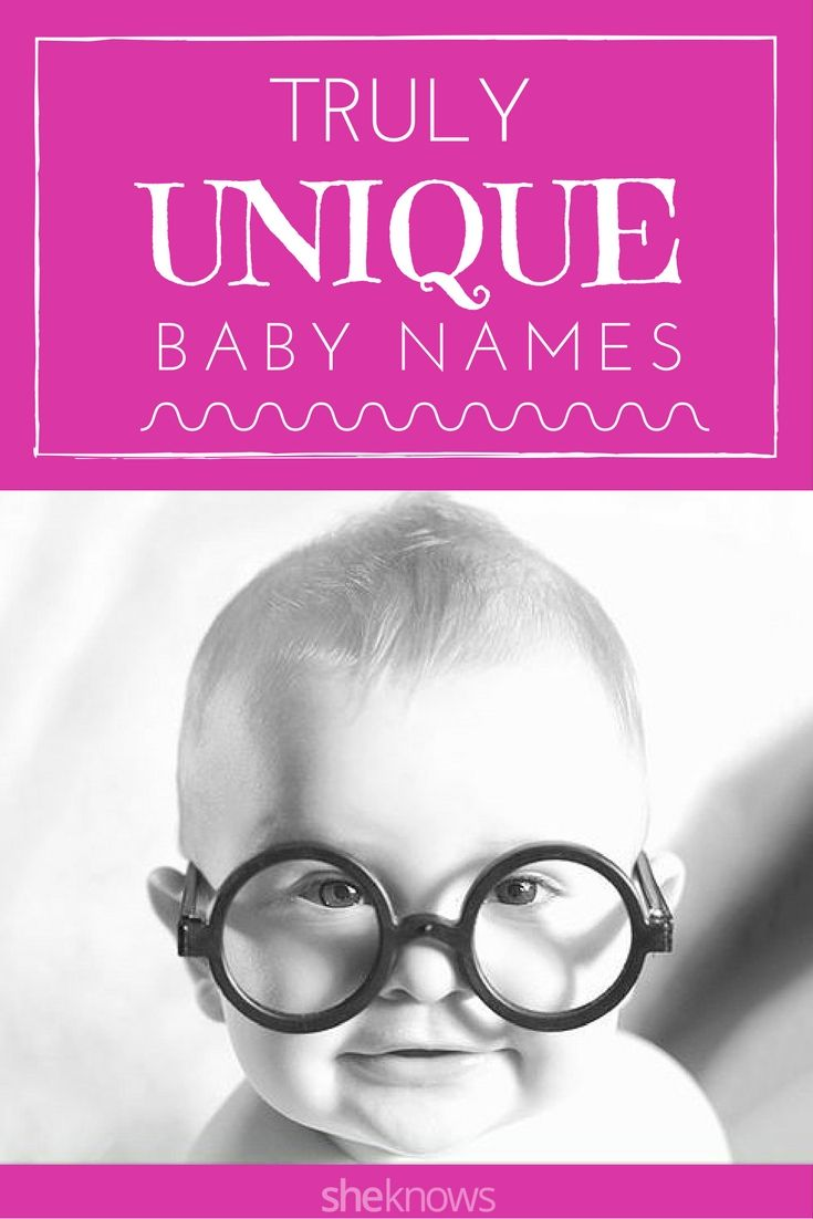 Unique baby names for boys and girls we wish we'd thought of first. If you're looking for a unique baby name that is edgy and cool check out our list of recommendations.