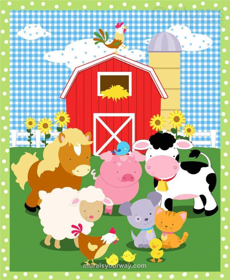 Down on the Farm mural
