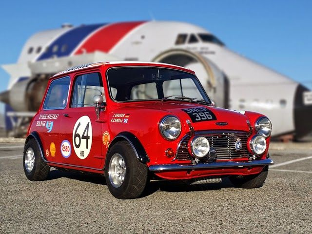 1962 Austin Cooper 997, modified to S spec. Original Minis are just the coolest…