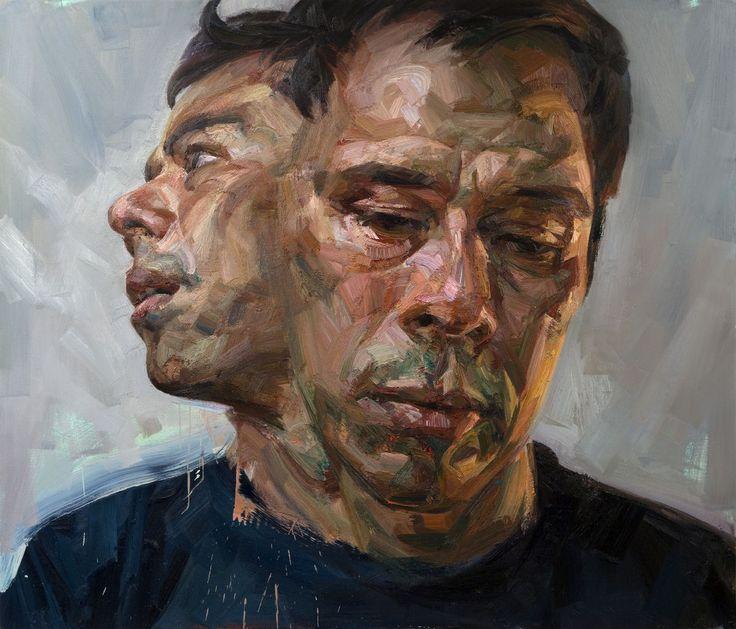 Selfportrait as Janus - tai shan schierenberg