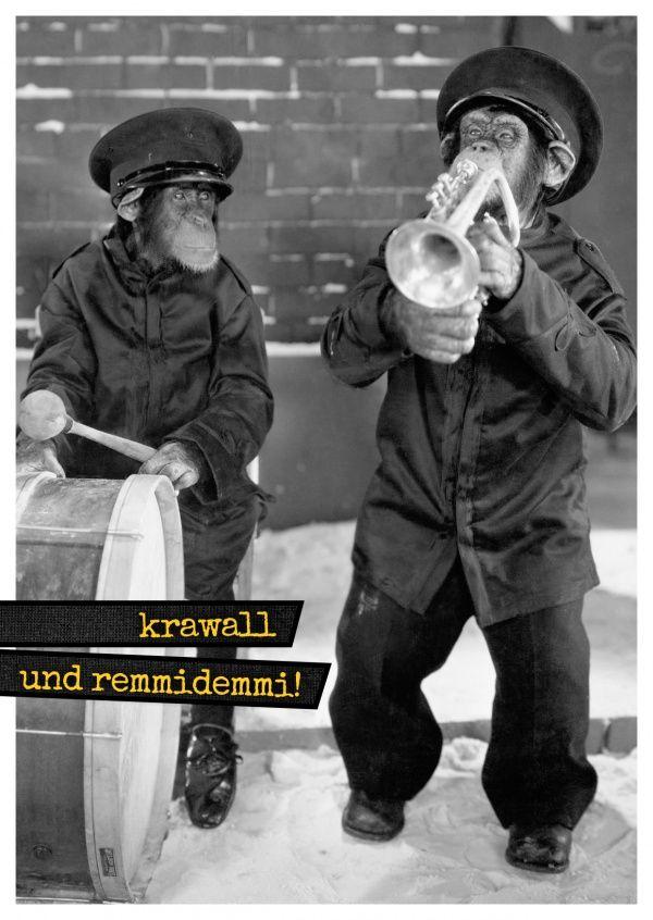 Krawall & Remmidemmi! | Humor | Echte Postkarten online versenden…