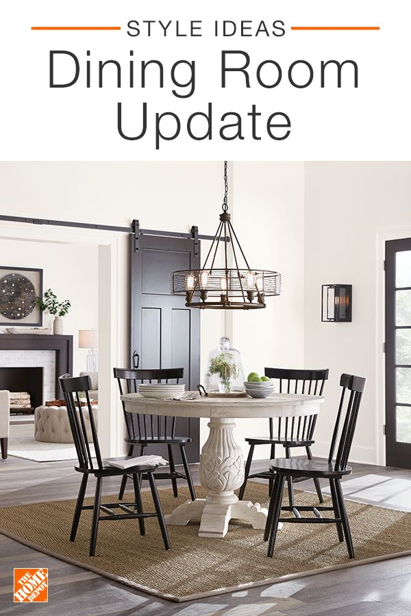 Update Your Dining Room By Investing In Statement Pieces Like A Classic Dining Set Discover Elegant Chairs Timele Farmhouse Dining Room Farmhouse Dining Home