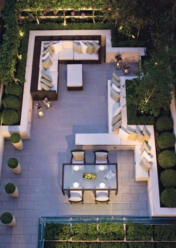 Modern Small Backyard Ideas