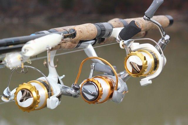 No more tangles with WaveSpin Reels. Photo by Brad Wiegmann Outdoors. http://www.bradwiegmann.com/tackle/rods-and-reels/1190-no-more-tangles-with-wavespin-reels.html