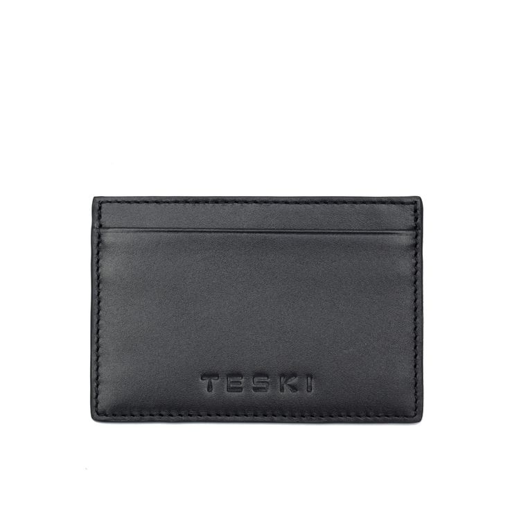 luxury leatehr card case from Teski