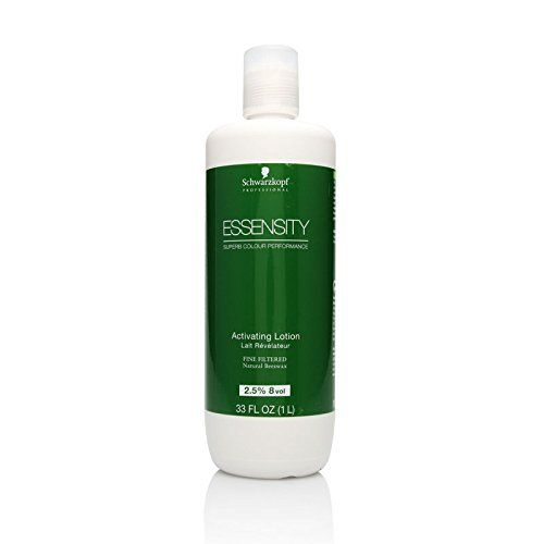 Schwarzkopf Essensity Activating Lotion 8 Vol 2.5% 33oz / 1 Liter *** Learn more by visiting the image link.