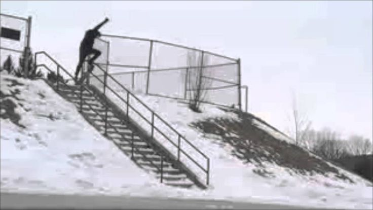 Easy People Best Snowskate Tricks Ever! The EP TSP2 Snowskate With A Mel...