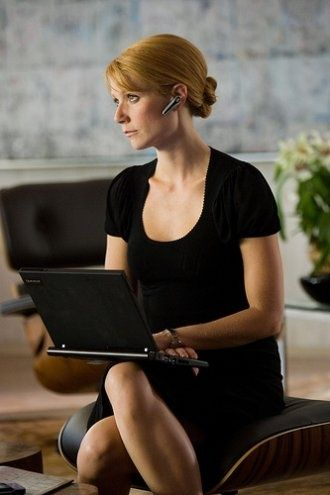 pepper potts costume gweneth paltrow   Gwyneth Paltrow as Pepper Potts in Iron Man   Women of Science Fiction