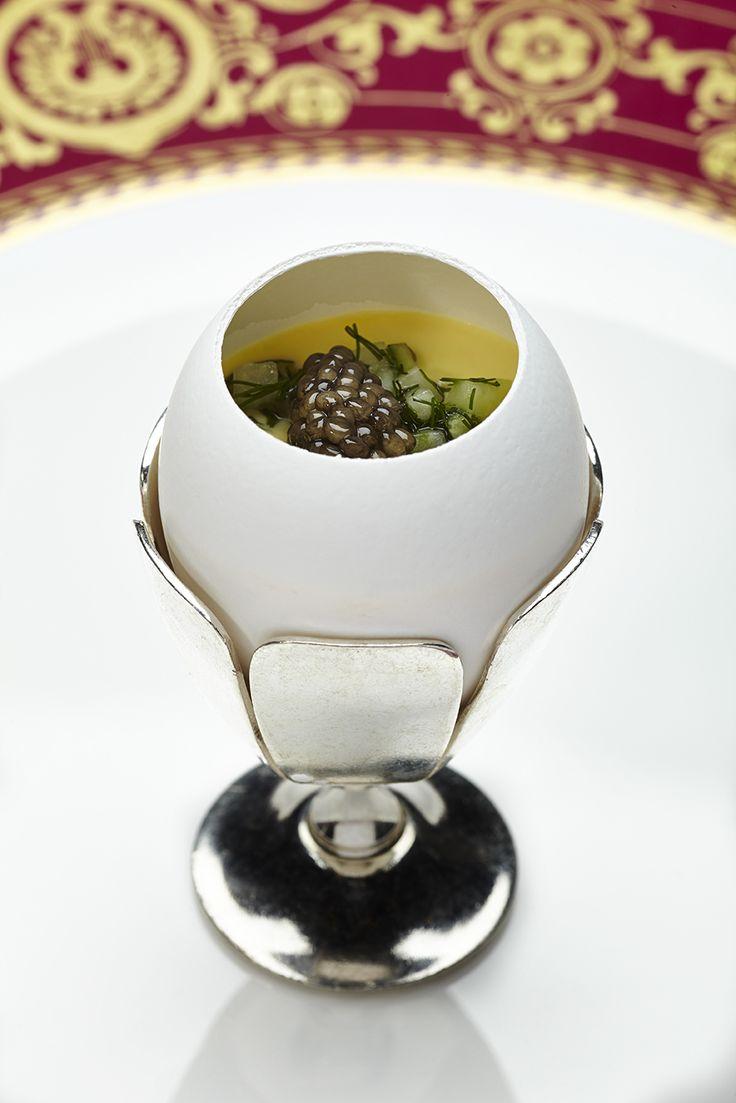 Festive Recipe   1963 Eggs by Chef Relais & Châteaux Pierre Gagnaire. #Recipe #RelaisChateaux #PierreGagnaire
