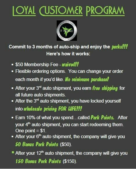 It works loyal customer program Get up to 45% off all It works products http://bodycontouringwrapsonline.com/body-wrap-information/1013