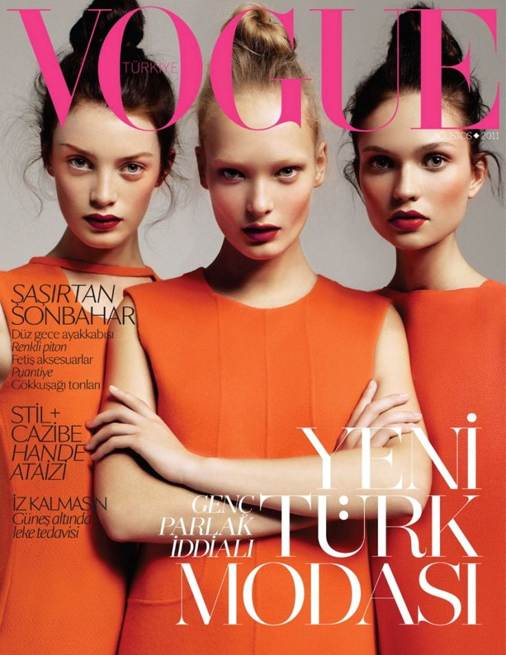 Turkish Vogue cover from 2011