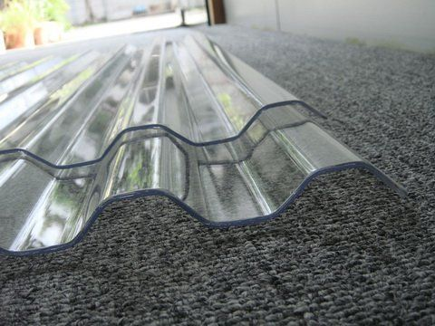 corrugated sheet,PC wave sheet, plastic roofing...for roofing the sheds, deck and carport