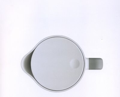 Rowenta Kettle top view by Jasper Morrison