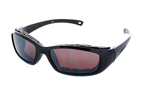 Womens Sunglasses |  Libert Sport RIDER Sunglasses Shiny Black Frame Rose Amber Lens Unisex ** You can get additional details at the image link.
