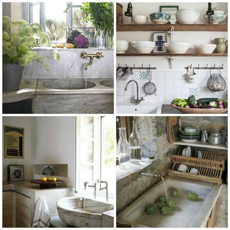 Rustic Kitchen Sink: Rustic Kitchen Sink Inspirations...