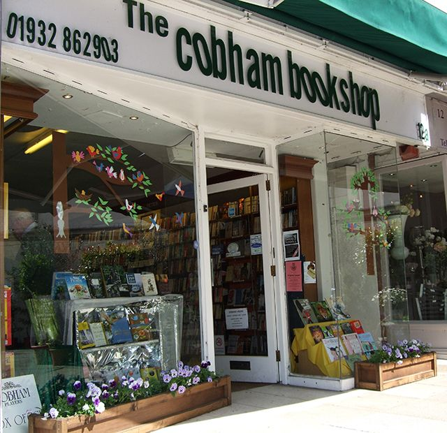 The Cobham Bookshop, Surrey.