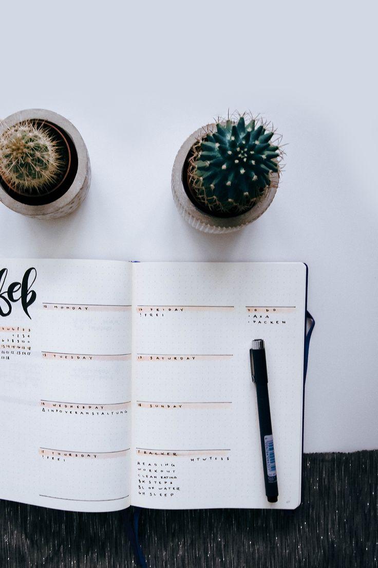 Bullet Journal – Meine neue Wochenansicht