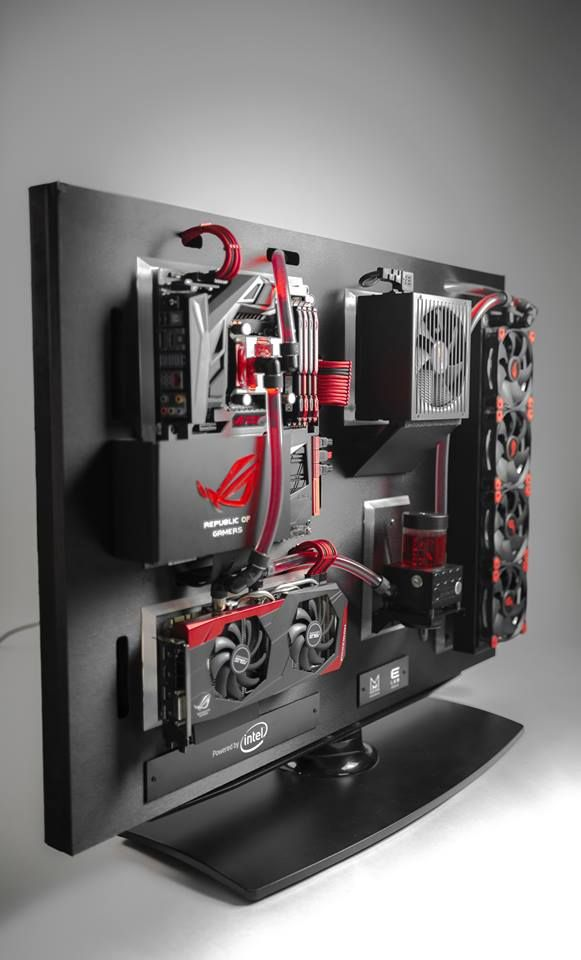 Case Mod Friday: ROG Wall | Computer Hardware Reviews - ThinkComputers.org