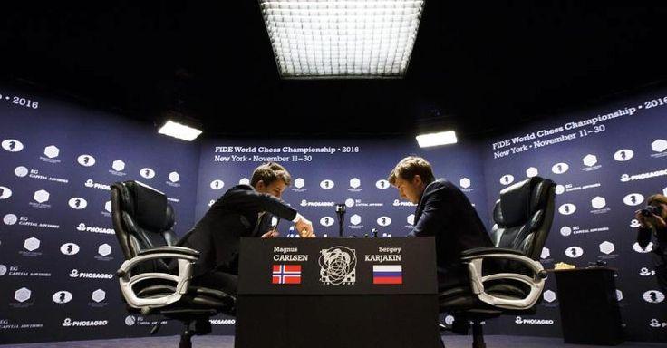 Aktuell!  Schach-WM im News-Ticker  - Remis! Carlsen und Karjakin gehen in den Tiebreak - http://ift.tt/2grDoG1 #nachricht