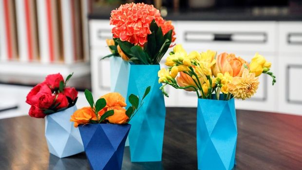 These sculptural, origami-inspired DIYs will add a bright splash of colour to your home | CBC Life