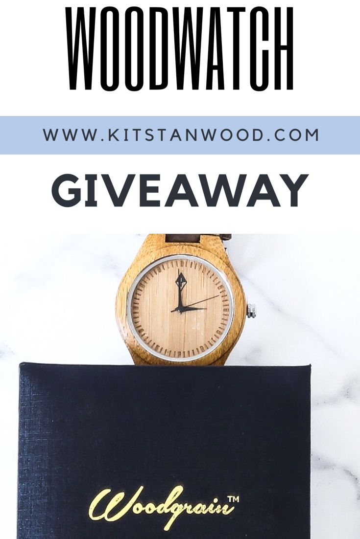 Woodgrain watch give away! So excited I hit 10k followers on my Instagram!